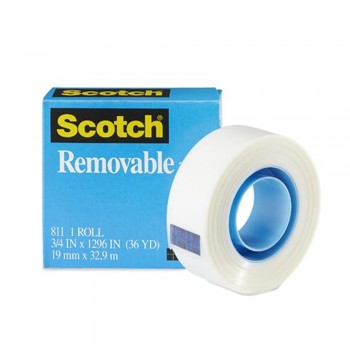 3M 811 Removable Tape 19mmx32.9M