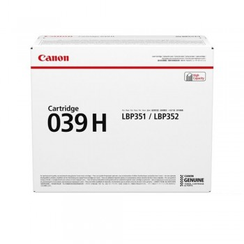 Canon Cartridge 039H Black Toner 25k