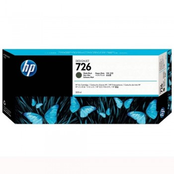 HP 726 DesignJet Ink Cartridge 300-ml - Matte Black (CH575A)