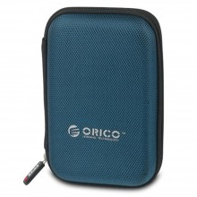 "Orico PHD-25 2.5"" HDD Protection Box With Net Packet Design - Blue"