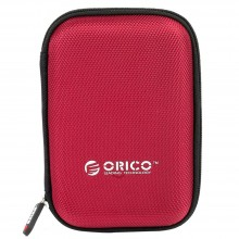 """Orico PHD-25 2.5"""" HDD Protection Box With Net Packet Design - Red"""