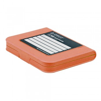 "Orico PHI-25 2.5"" Hard Disk Storage Protection Box Case - Orange"