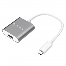 Orico RCH Aluminium Type-C to HDMI Convertor - Space Grey