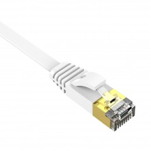 Orico PUG-GC6B 5m High Quality CAT6 Flat Unshielded Gigabit Network Cable RJ45 - White