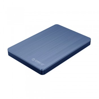 Orico MD25 2.5'' USB 3.0 Hard Drive Enclosure with Aluminium & ABS Material - Blue
