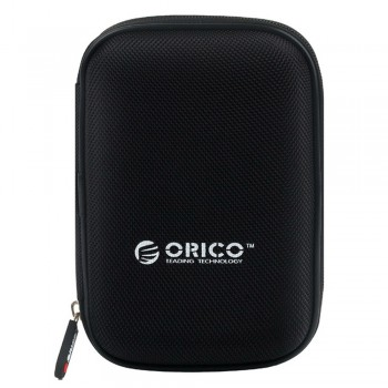 """Orico PHD-25 2.5"""" HDD Protection Box With Net Packet Design - Black"""