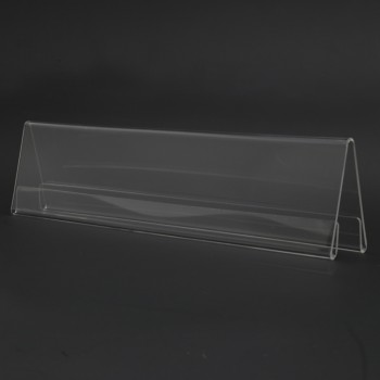 Acrylic A300 Card Stand - 300mm (W) x 70mm (H)