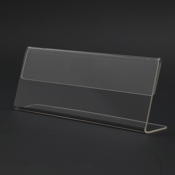 Acrylic T120 Card Stand - 120mm (W) x 55mm (H)
