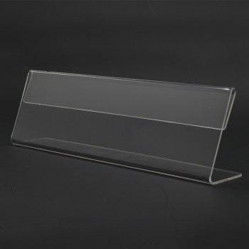 Acrylic T180 Card Stand - 180mm (W) x 55mm (H)