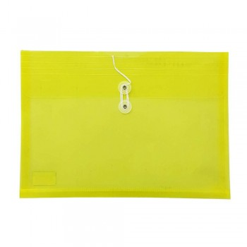 A4 Top Open Document Holder Yellow