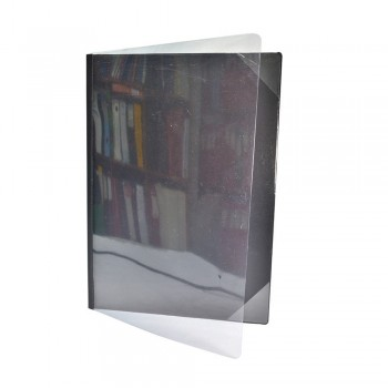 521A Certificate Holder with Transparent - Black